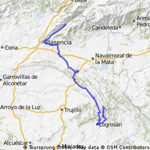 Navaconcejo-Pico Villuercas