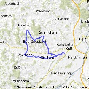 Pocking - Reutern - Griesbach - Weng - Bayerbach