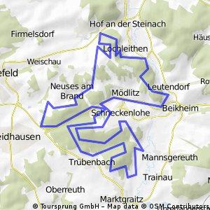 Schneckenlohe - MTB-Marathon 2009 (35km-Tour)