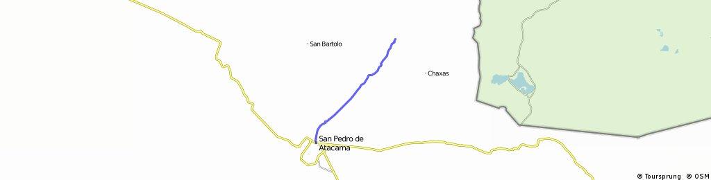 San pedro de Atacama a Termas de Puritana