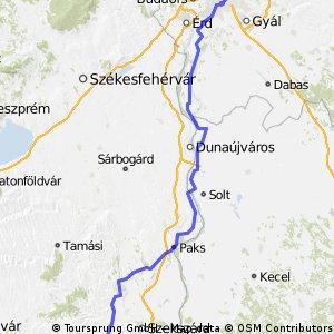 Budapest-Nagymanyok Bike tour