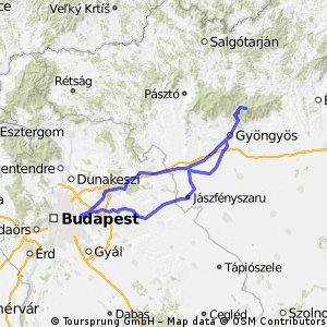 Budapest - Kékestető - Budapest Bike Tour