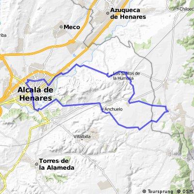 Los Santos, Santorcaz, Pioz, Anchuelo y Cerros