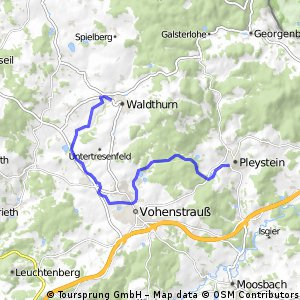 Route 4 - Bocklweg Haselranken - Pleystein