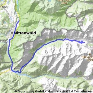 Mittenwald-Karwendelhaus