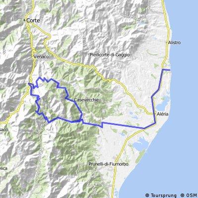 Korsika 7. den  Col de Sorba