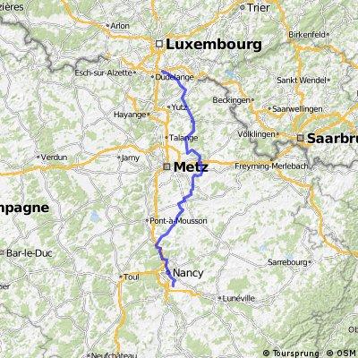 Stage 5 of 26 Hagen - Les Jablins 148km