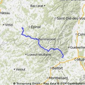 Stage 7 of 26 Girancourt - Roderen 107km