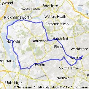 Harrow Moor Park Harefield