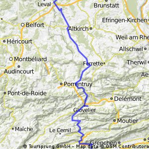 Stage 8 of 26 Roderen - Funtelen 127km