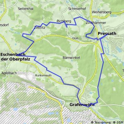 Grafenwöhr-Pressath-Windischeschenbach u. z