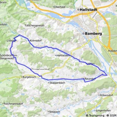 Pettstadtrunde über Frenshof