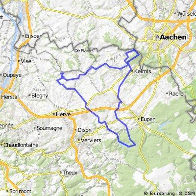 Sart-drie ladenpunt  barage abaye valle dieu-sart