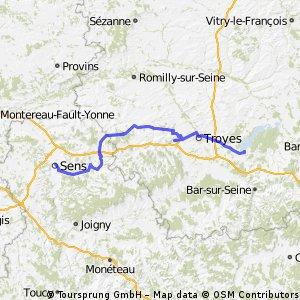 6 Tour de France - Mesnil St. Pere _ Sens