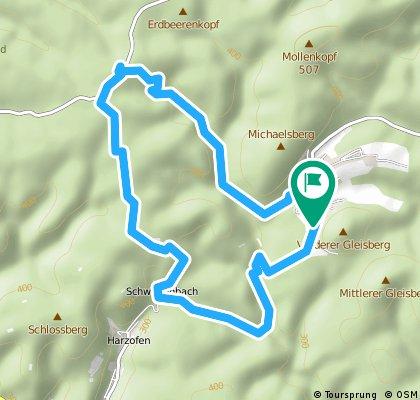 Esthal Schwarzsohl 14 km