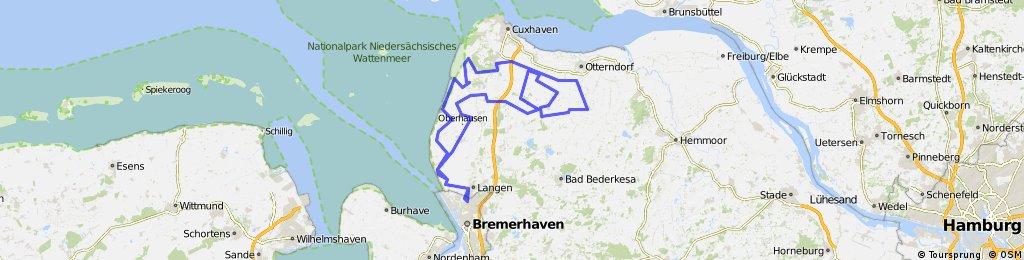 """""""Tour de Watt"""" 2016 vom LTS Bremerhaven"""