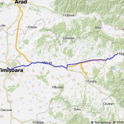 Faget-Timisoara  pe  A1(Traian Vuia->Sanovita) 06Oct2013