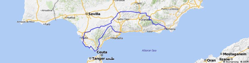 Almeria - Andalusien - Runde
