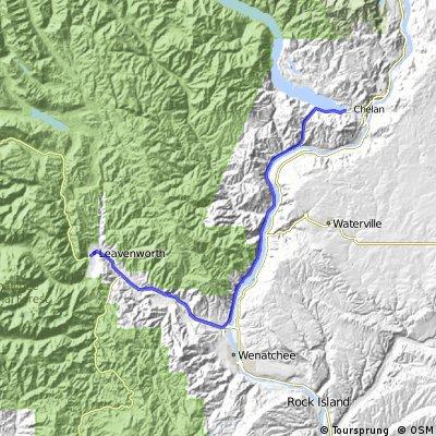 Volcanoes Day 04: Chelan to Leavenworth