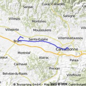 2013 Ride Day 24 - Carcassonne to Bram