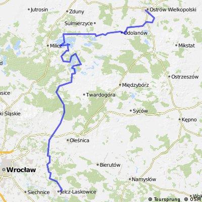 Jelcz-Laskowice - Dolina Baryczy - Ostrów Wielkopolski