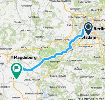 Berlin zum Friedensfahrtmuseum in Kleinmühlingen