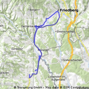Grafendorf - Friedberg - Grafendorf, 19. August 2015 - 31,8 km