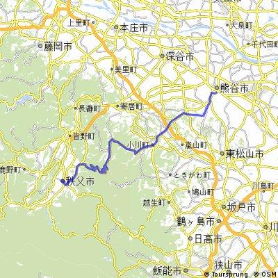 埼玉県道11号熊谷小川秩父線