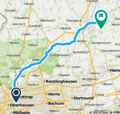 Bottrop-Telgte-100km