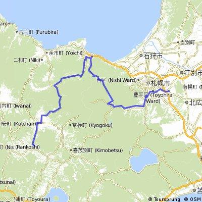 Sapporo to Niseko 1