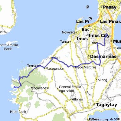 BF Toyota Gate to Pico de Loro / Hamilo Coast via Dasmarinas