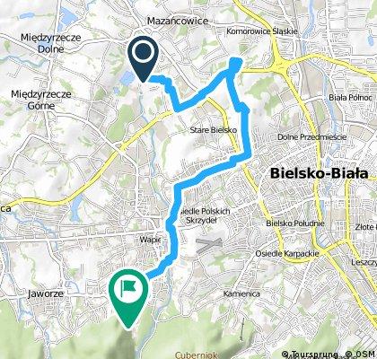 Trasa rowerowa GREENWAY pow.bielski