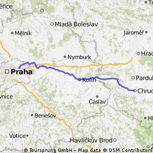 Praha RZ - Chrudim