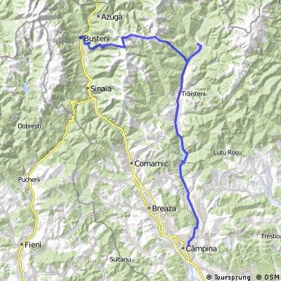 Busteni - Muntii Baiului - Valea Neagra - Valea Doftanei - Paltinu - Campina
