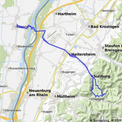 Fessenheim - Sulzburg (Schwarzwald)