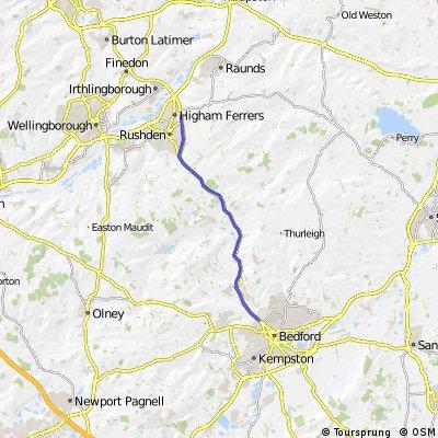45RC 25 Mile TT Route