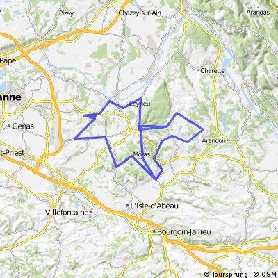 04. Charvieu-Chavagneux > Charvieu-Chavagneux - 158,6 km