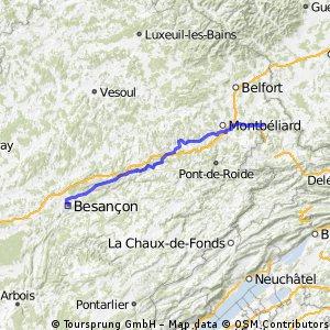 Besançon-Delle