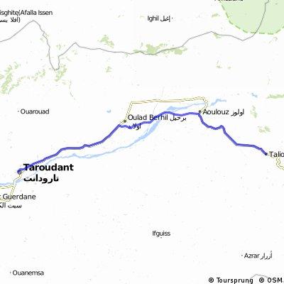 Taroudanr to Taliouine