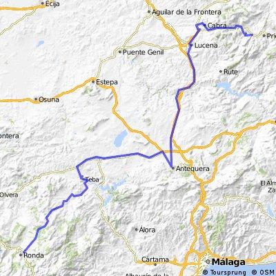 5ªR. Eta Priego de Cordoba , Ronda 180 km