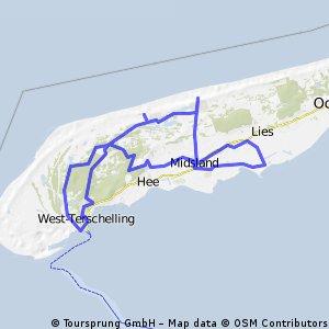 West Terschelling-de Walvis-Midsland