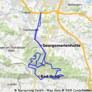 Bad Iburg lang un schmutzig+Anreise