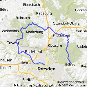 Dresdner Nordschleife
