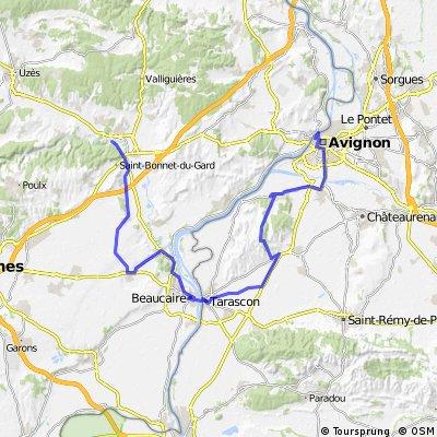 Pont du Gard - Tarascon  - Avignon