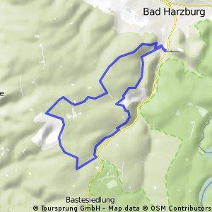 Volksbank Arena Harz H 1 Spitzenberg Klippen-Tour