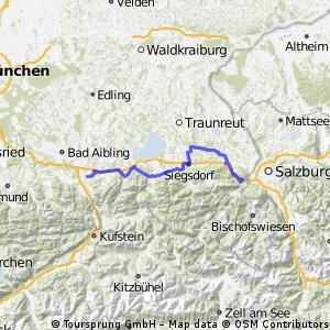 Bodensee - Königsee - Etappe 5 - Derndorf - Piding