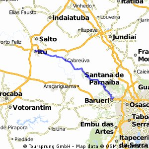 Estrada dos Romeiros - Barueri à Itú