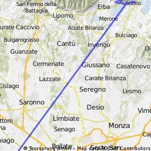 Atterraggio Campora & Ritorno
