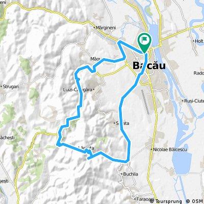 BACAU-LARGUTA-VALEA SEACA-BACAU