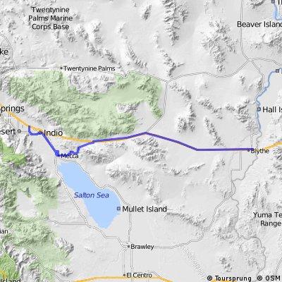 3. Tag C2C Palm Desert - Blythe, CA